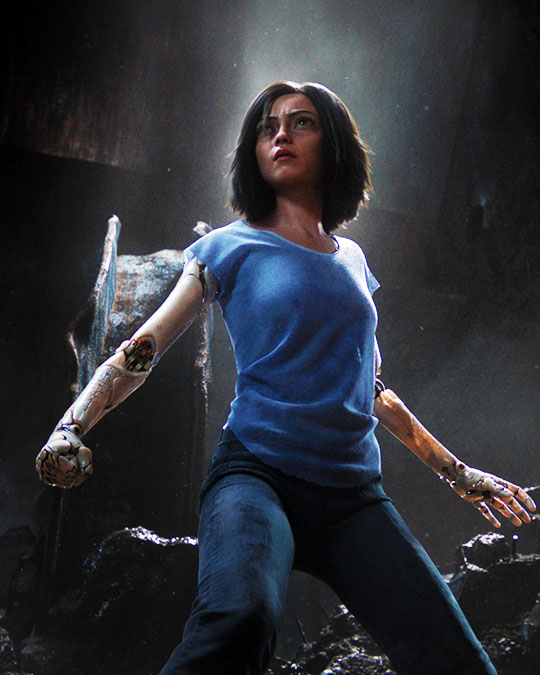 Blir Alita Battle Angel en succé?